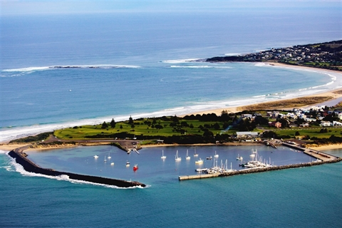 Apollo-Bay-Harbour-Aerial