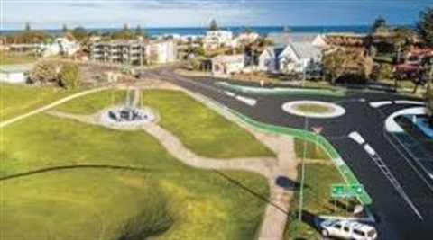 Apollo Bay proposed roundabout artist impression.JPG