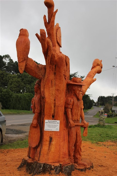 Beech Forest Tree Sculpture