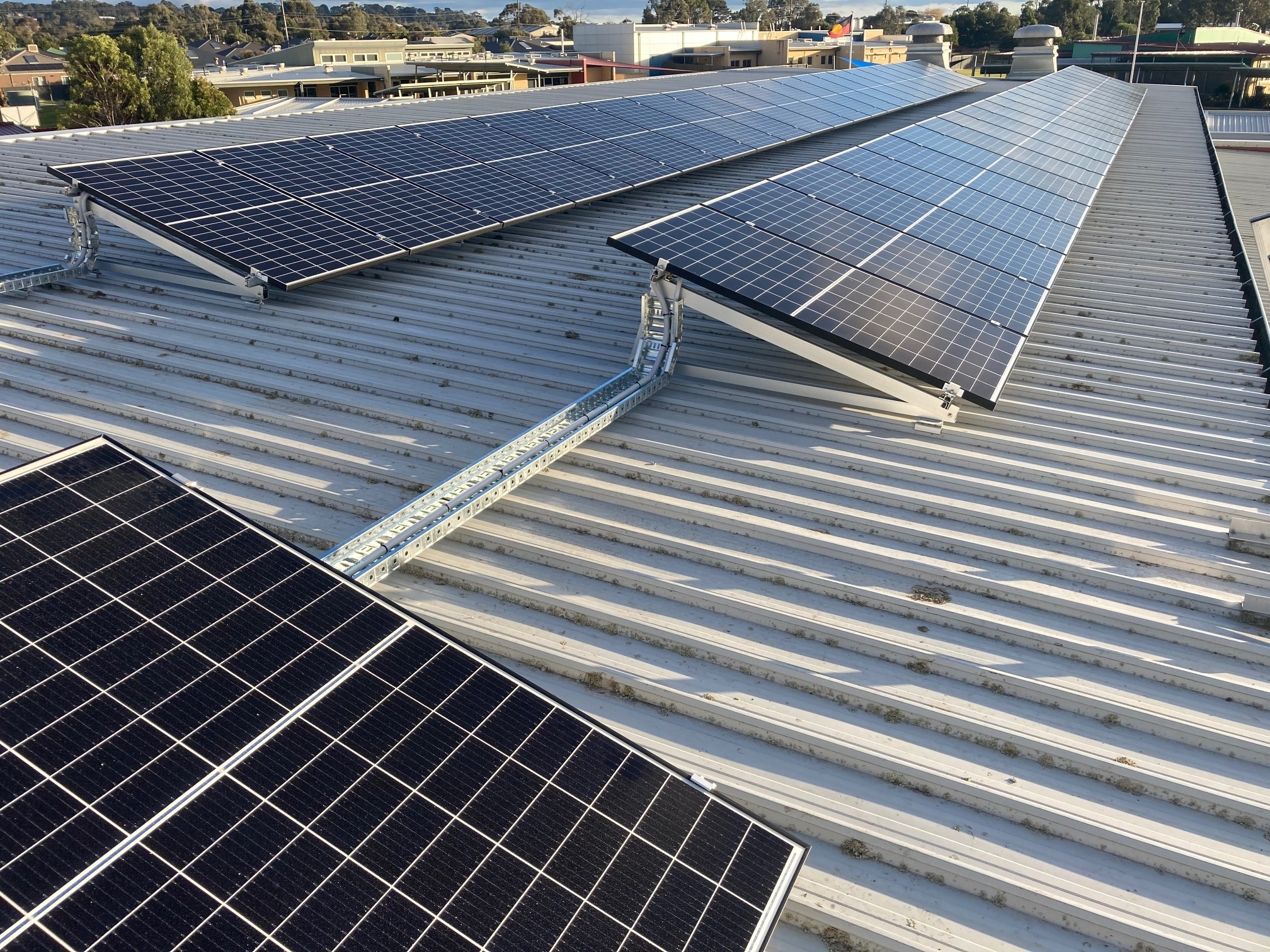 Colac Library Solar Array