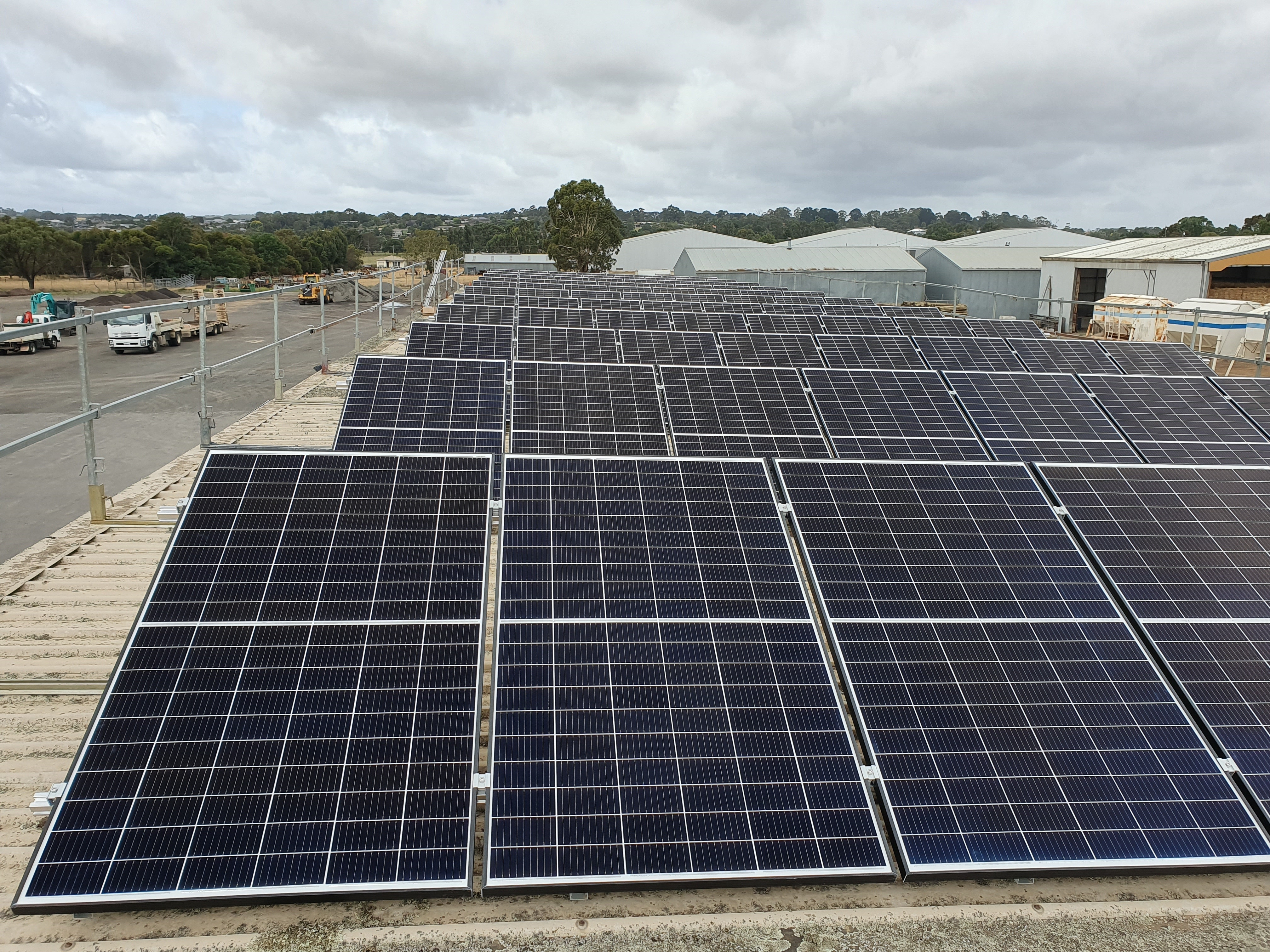Pound Road Depot Solar Array