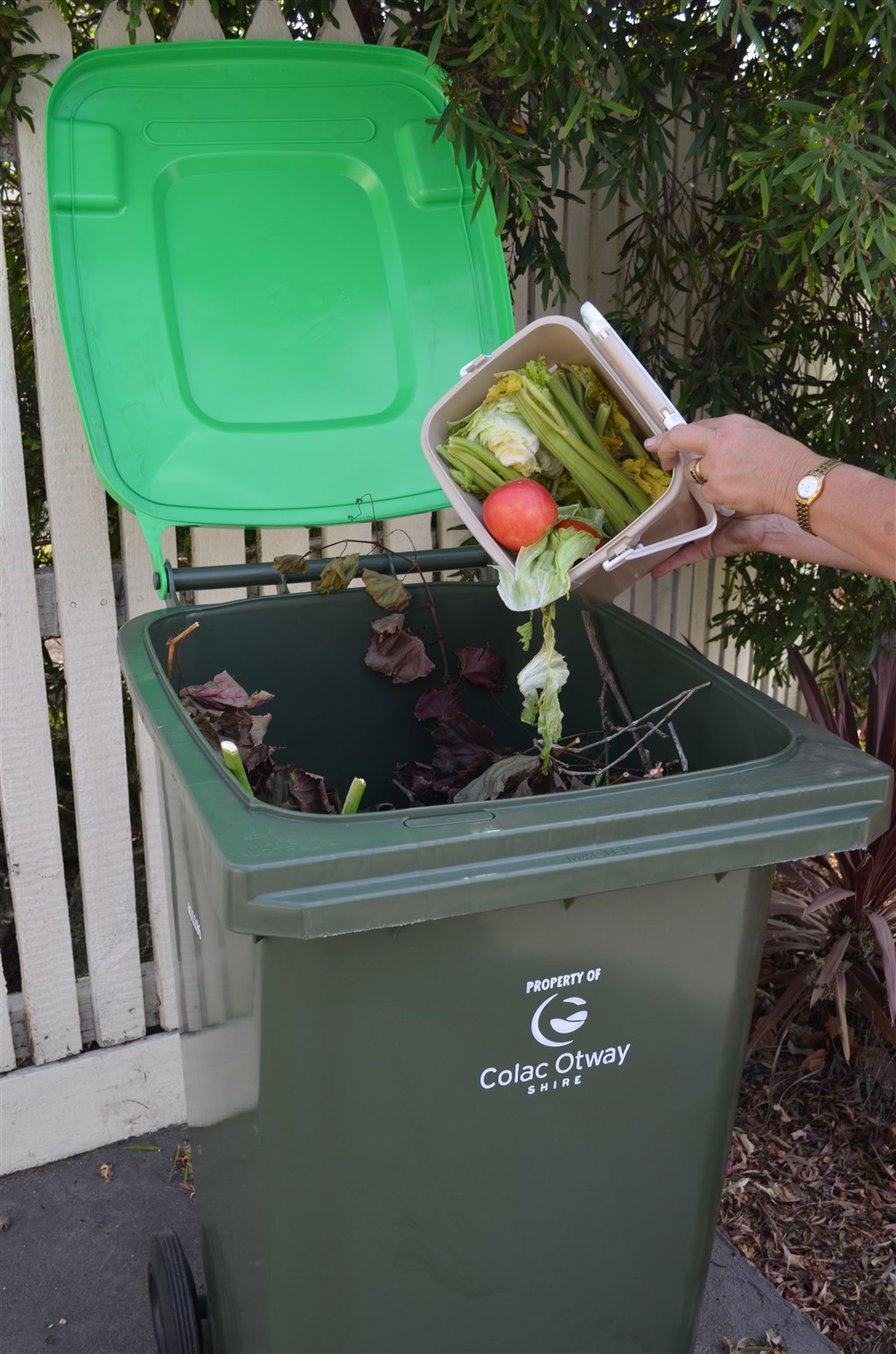 Kerbside Green Waste Collection Colac Otway Shire