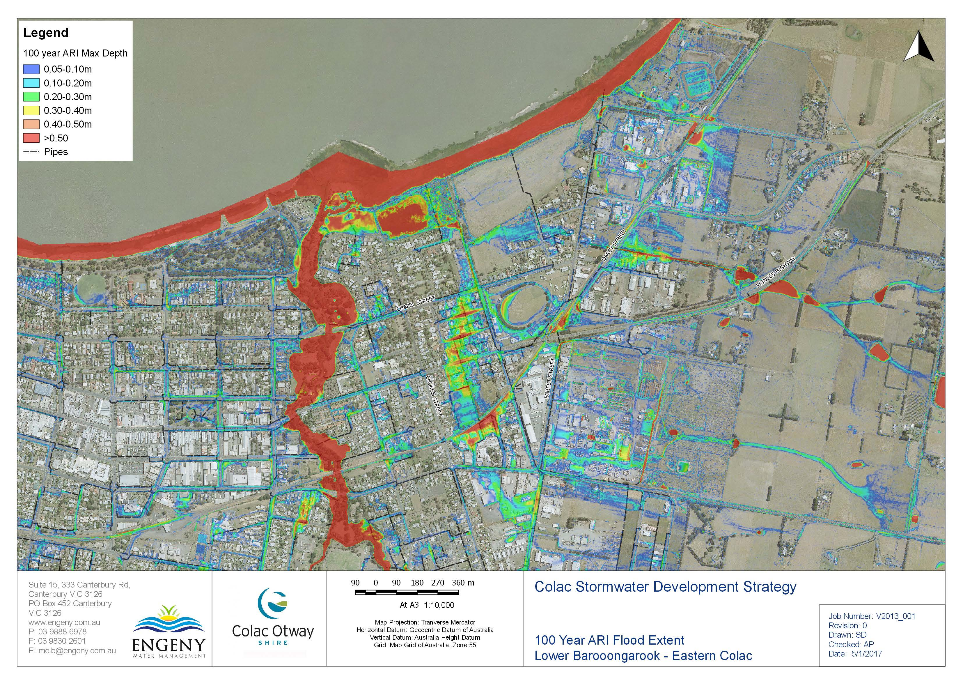 Council Needs Communitys Help To Check Flood Maps Colac Otway Shire - Flood check map
