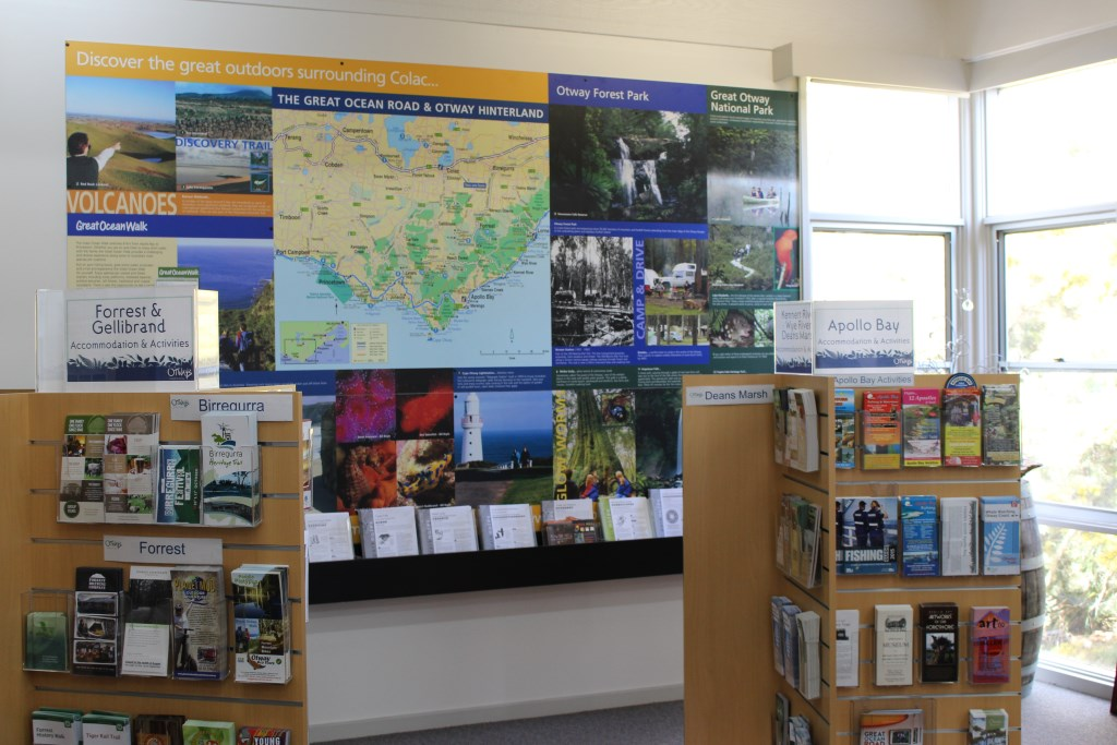 Colac VIC Map wall