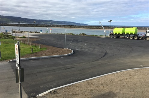 20191001 Media Release Apollo Bay boat ramp car park sealing complete pic.JPG